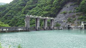 奥やまなし早川町のダム!